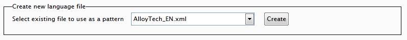 Language File Editor 1.0 - Create new controls.