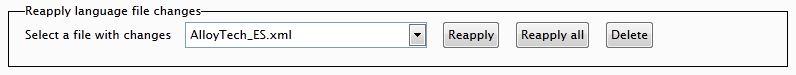 Language File Editor 1.0 - Reapply language file changes controls.